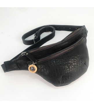 ANIRO - BARCELONA Cross-over tas Mila Black