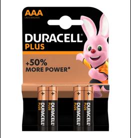 Duracell Batterij Plus Power AAA blister 4