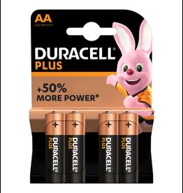 Duracell Batterij Plus Power AA blister 4