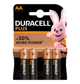 Duracell Batterij Plus Power Duralock AA blister 4