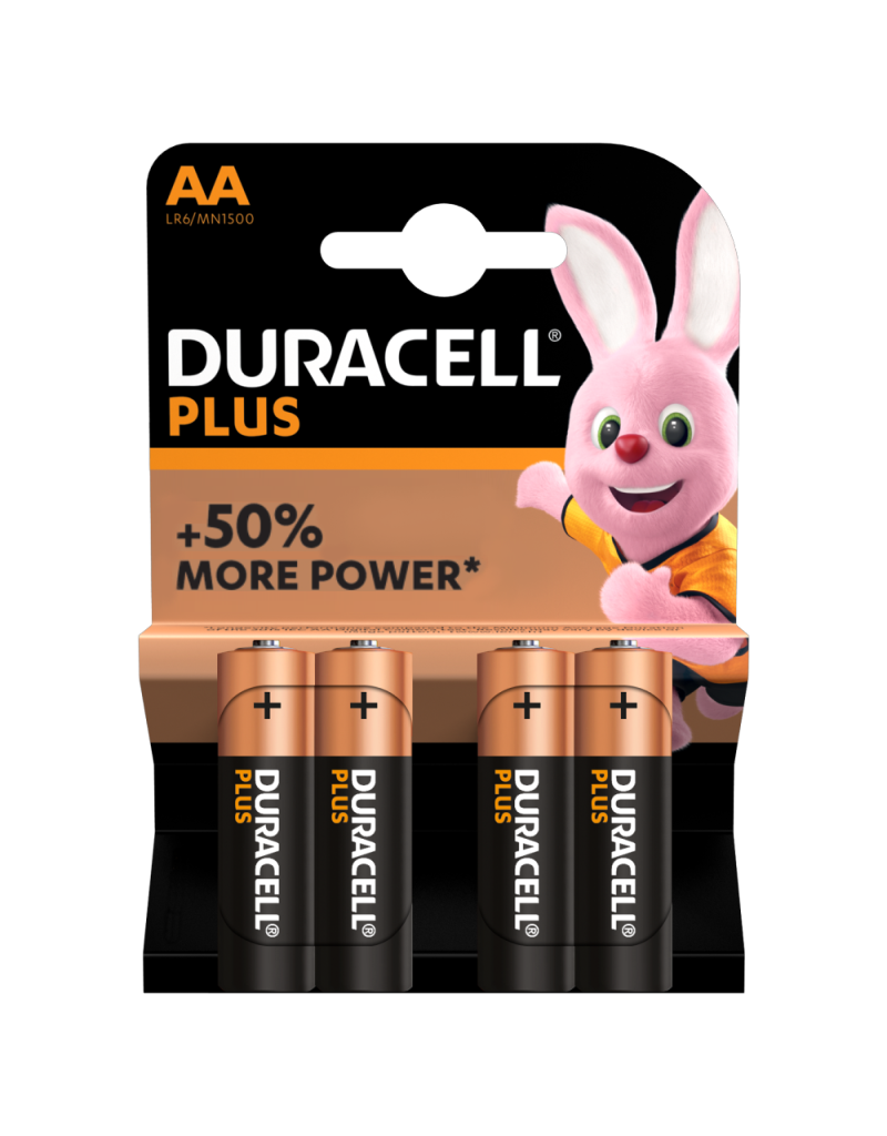 Duracell Batterij Plus Power AA/LR6 blister 4