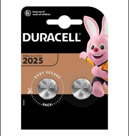 Duracell Knoopcel batterij CR2025 blister 2