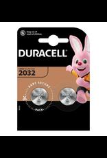 Duracell Knoopcel batterij Lithium CR2032 blister 2
