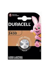 Duracell Knoopcel batterij Lithium CR2430 blister 1