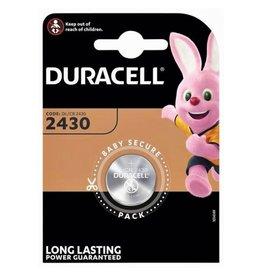 Duracell Knoopcel batterij CR2430 blister 1