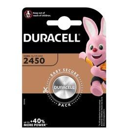 Duracell Knoopcel batterij CR2450 blister 1