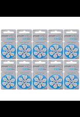 PowerOne 60 stuks PowerOne blauw 675 Cochlear Implant Plus hoorbatterijen