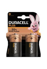 Duracell Batterij Plus Power D/LR20 blister 2