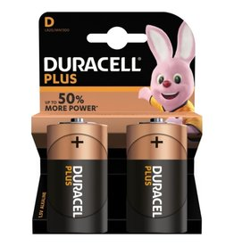 Duracell Batterij Plus Power Duralock D blister 2