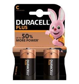 Duracell Batterij Plus Power C blister 2
