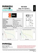 Duracell Batterij Plus Power Duralock 9v / 6LR61 blister 1