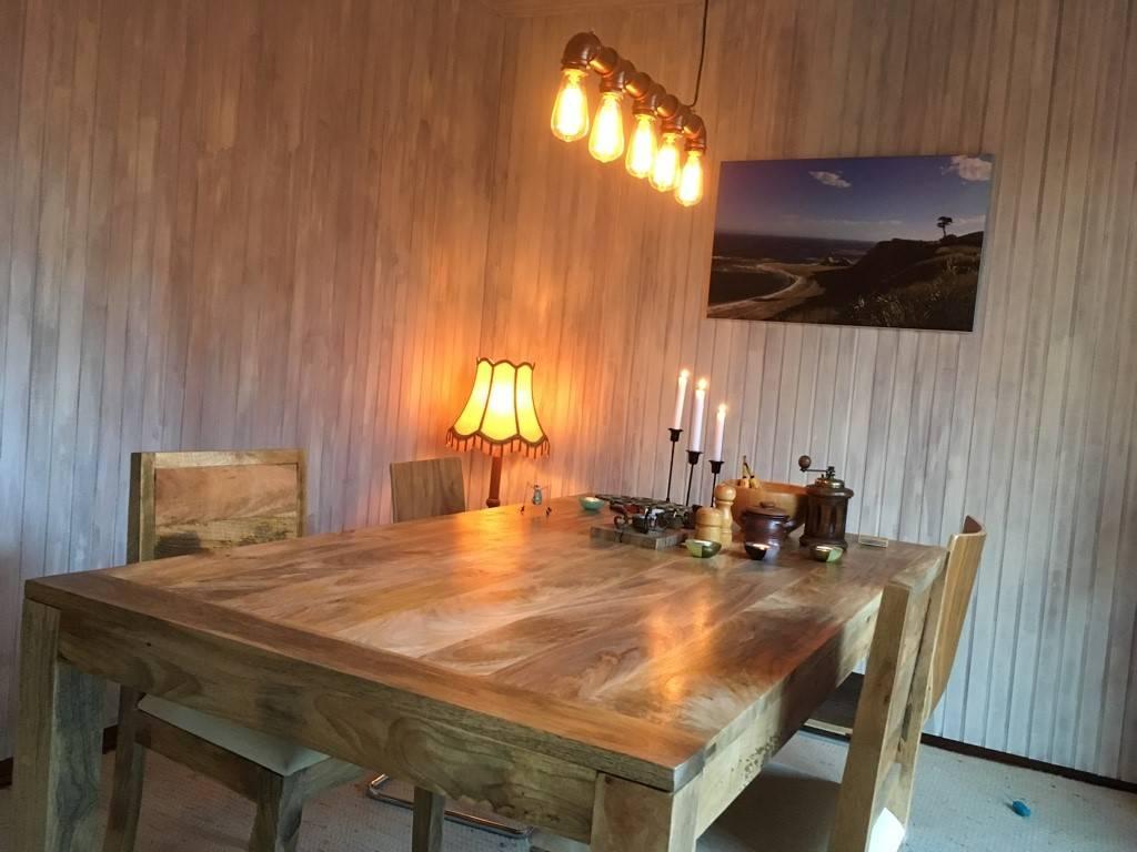 Jabulo Esstisch Barletta Massivholz Tisch Mango Holz Esstisch 200 cm