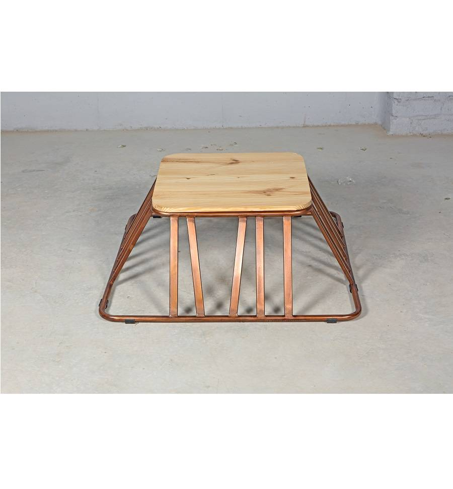 Jabulo Design Couchtisch Garten Lounge Beistelltisch Camps Bay Metall Holz