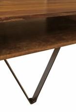 Jabulo Design Couchtisch Russel Holz und Metall Industrial Industrie Vintage Retro