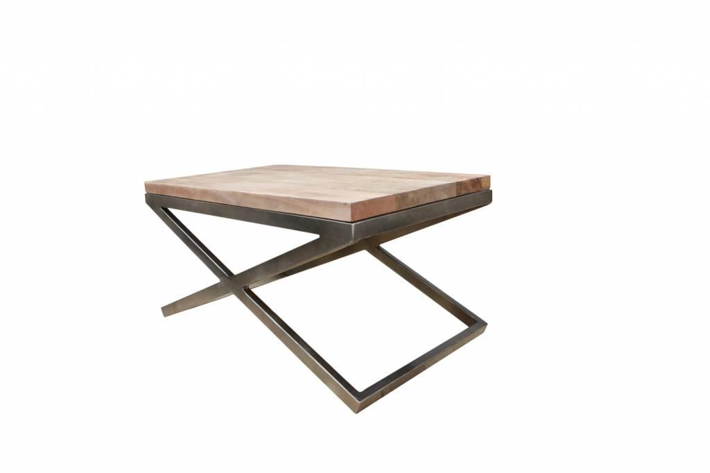 Jabulo Design Couchtisch Lucy Metall Holz