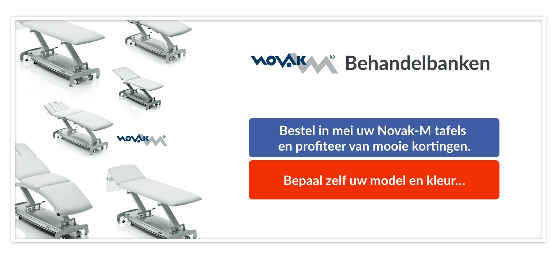 Novak-M mei aanbiedingen