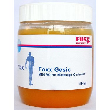 Foxx Gesic Mild verwarmende massagebalsem 454gr