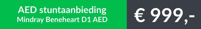 Stuntaanbieding AED