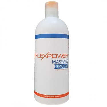 Flexpower FlexPower massage emulsie 500ml