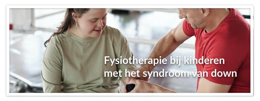 Fysiotherapie bij kinderen met het syndroom van down