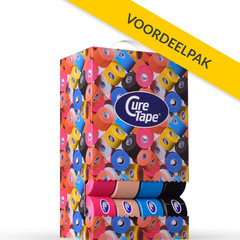 CureTape CureTape Classic 5 cm x 5 meter voordeelbox