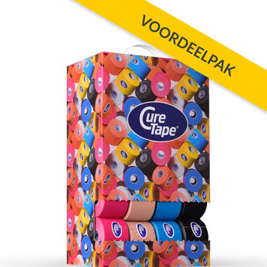 CureTape CureTape Classic 5 cm x 5 meter voordeelbox (40 stuks)