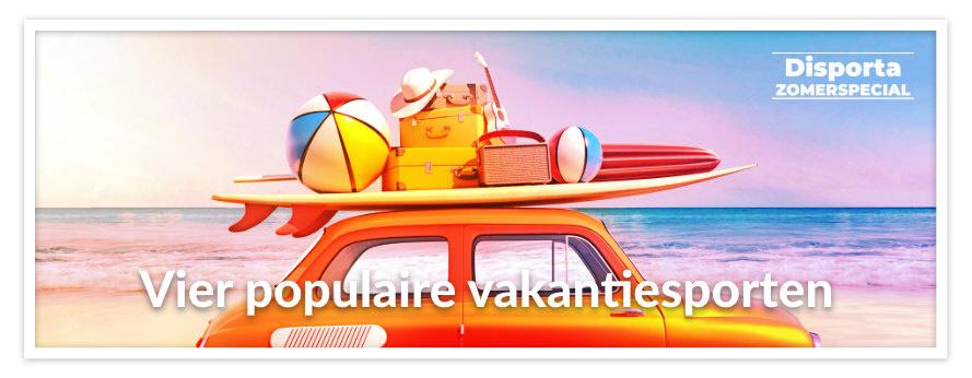 Vier populaire vakantiesporten