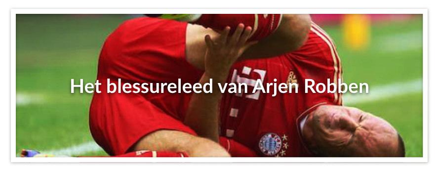 Het blessureleed van Arjen Robben
