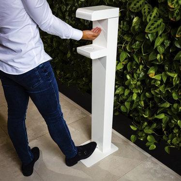 Disporta Disporta Handsfree dispenser met voetbediening de luxe