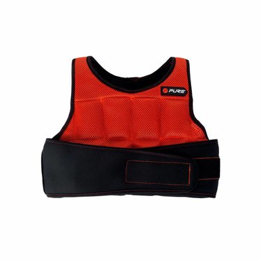 Pure2Improve Pure2Improve Weighted Vest rood/zwart