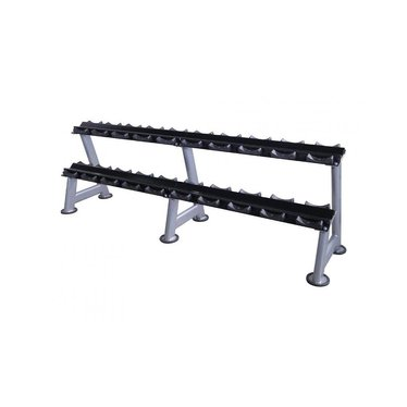 Lifemaxx Lifemaxx Dumbbellrack - silver (5 - 20 sets)