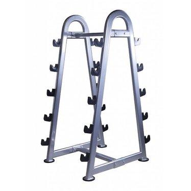Lifemaxx Lifemaxx Barbell rack 10pcs. (silver)