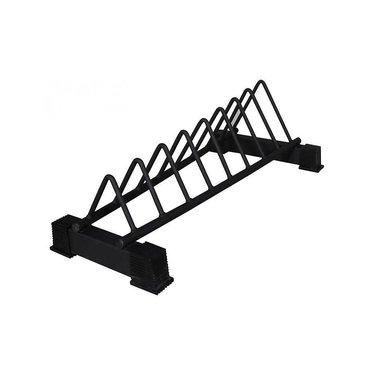 Lifemaxx Crossmaxx® bumper plate rack (black)