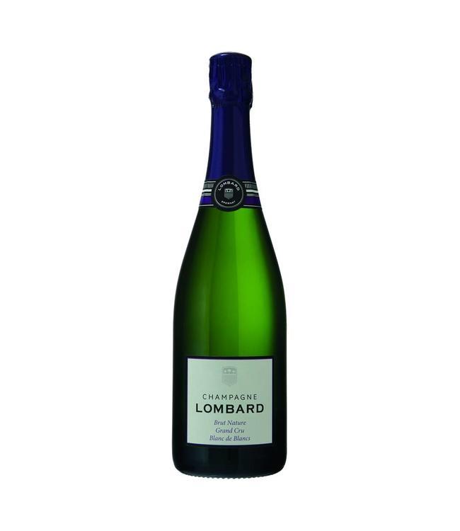 Champagne Lombard Brut Nature Grand Cru BDB 0,750L Mousserend