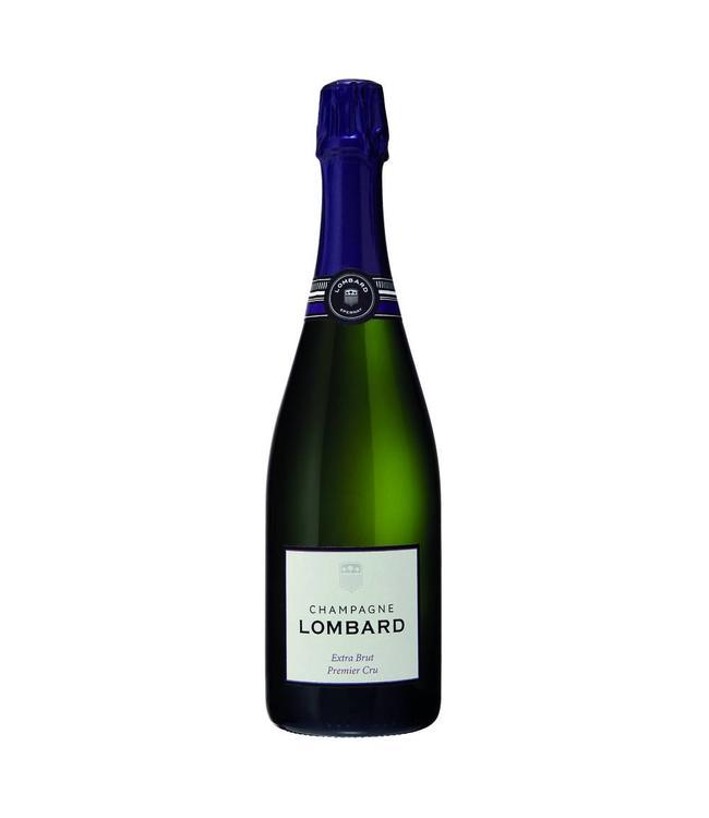 Champagne Lombard Extra Brut 1er Cru 0,750L Mousserend