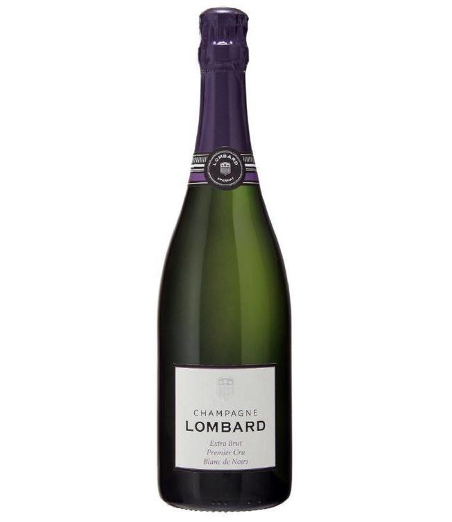 Champagne Lombard Extra Brut 1er Cru Blanc de Noirs 0,750L Mousserend