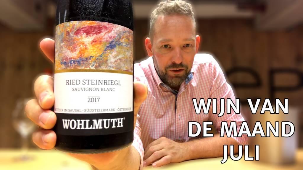Wijn Van De Maand #001 (Juli) - Wohlmuth Sauvignon Blanc Ried Steinriegl