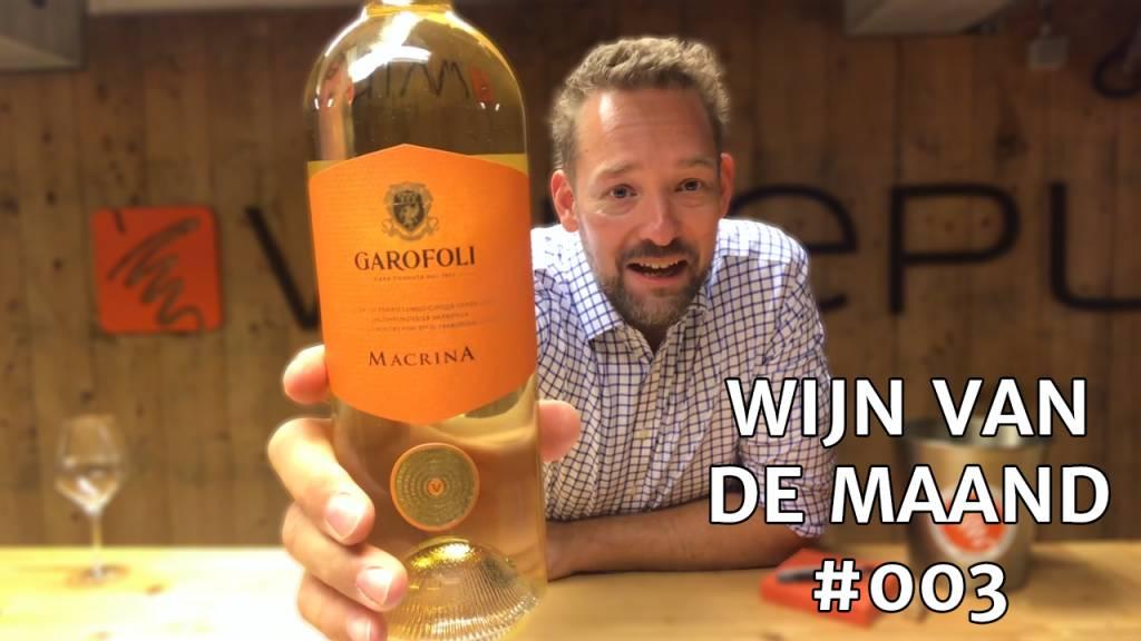 Wijn van de maand #003 (September) - Garofoli Macrina Wit