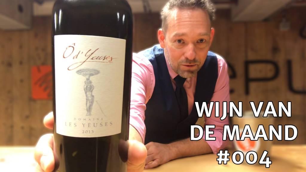 Wijn Van De Maand #004 (Oktober) - Domaine Les Yeuses Ô d'Yeuses Rood