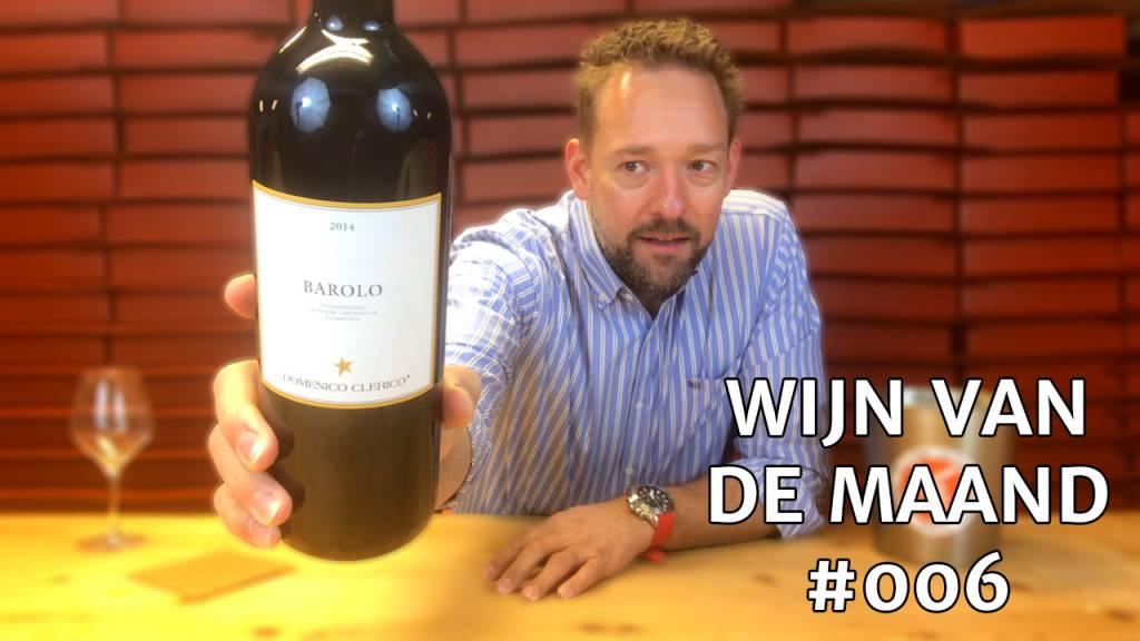 Wijn Van De Maand #006 (December) - Domenico Clerico Barolo Rood