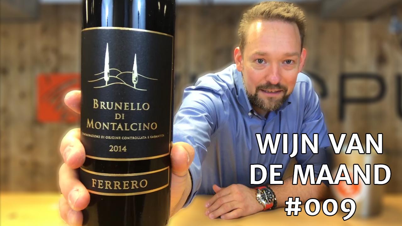 Wijn Van De Maand #009 (Maart) - Claudia Ferrero Brunello Di Montalcino