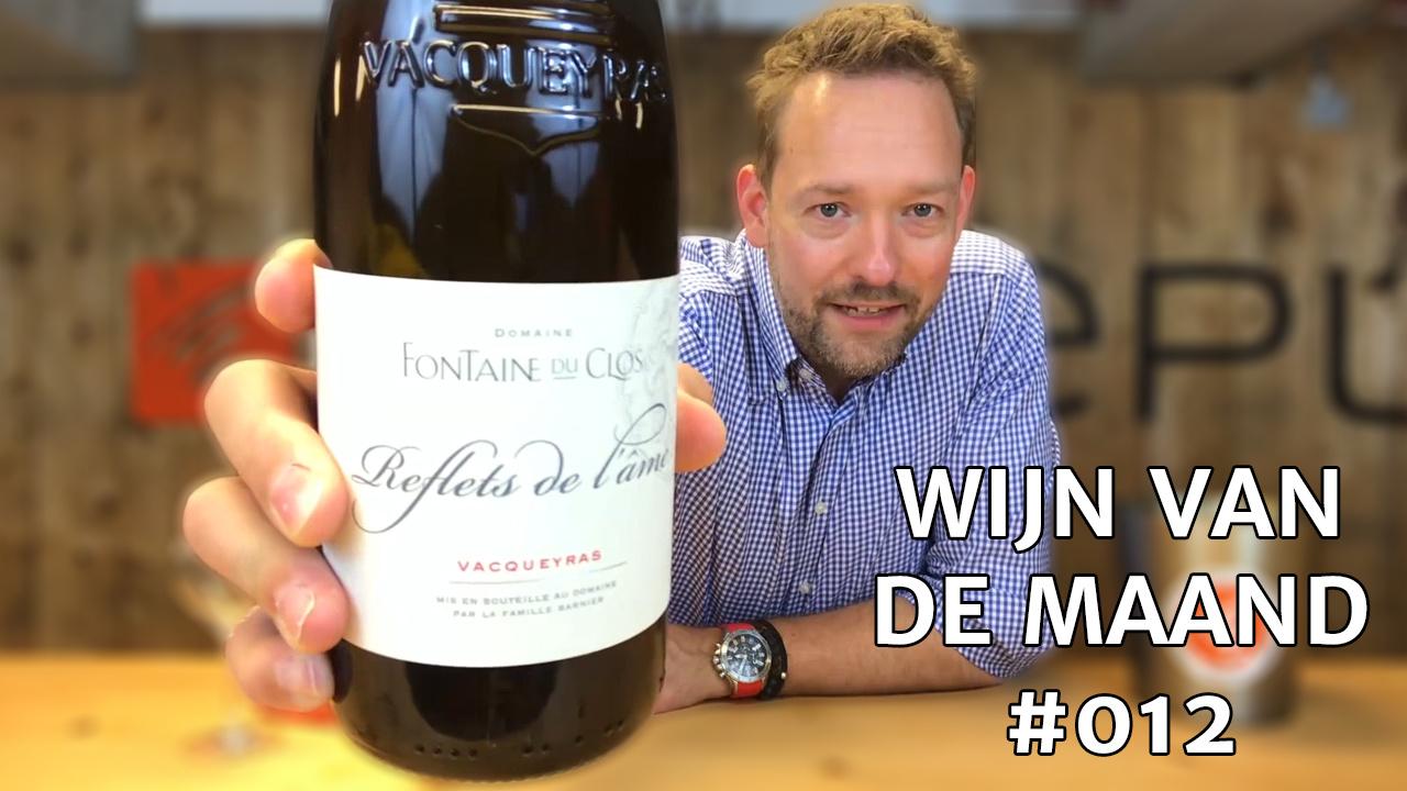 Wijn Van De Maand #012 (Juni) - Fontaine Du Clos Reflets de l'Âme Wit