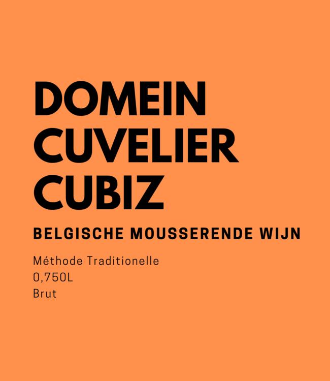 Domein Cuvelier Cubiz Brut 0,750L Mousserend