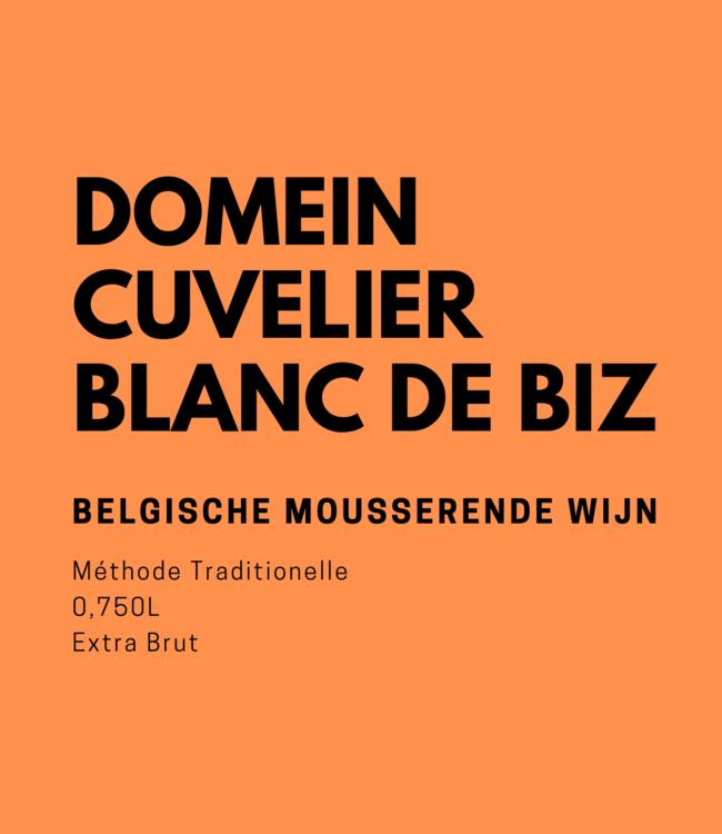 Domein Cuvelier Blanc de Biz Blanc de Blancs Extra Brut 0,750L Mousserend