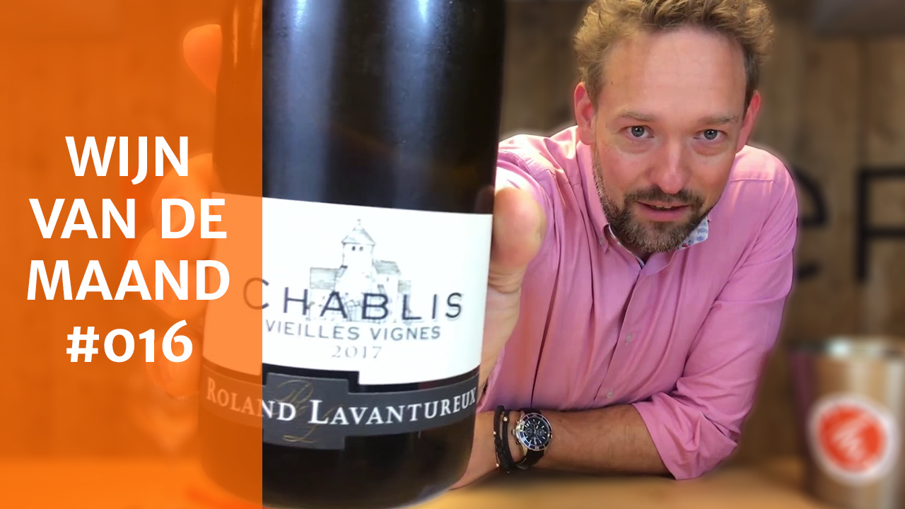 Wijn Van De Maand #016 (Oktober) - Domaine Roland Lavantureux Chablis Vielles Vignes