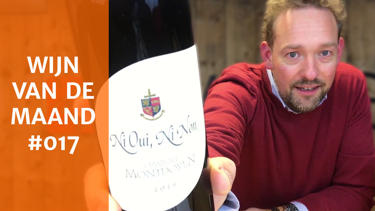 Wijn Van De Maand #017 (November) - Château Montdoyen Ni Oui Ni Non