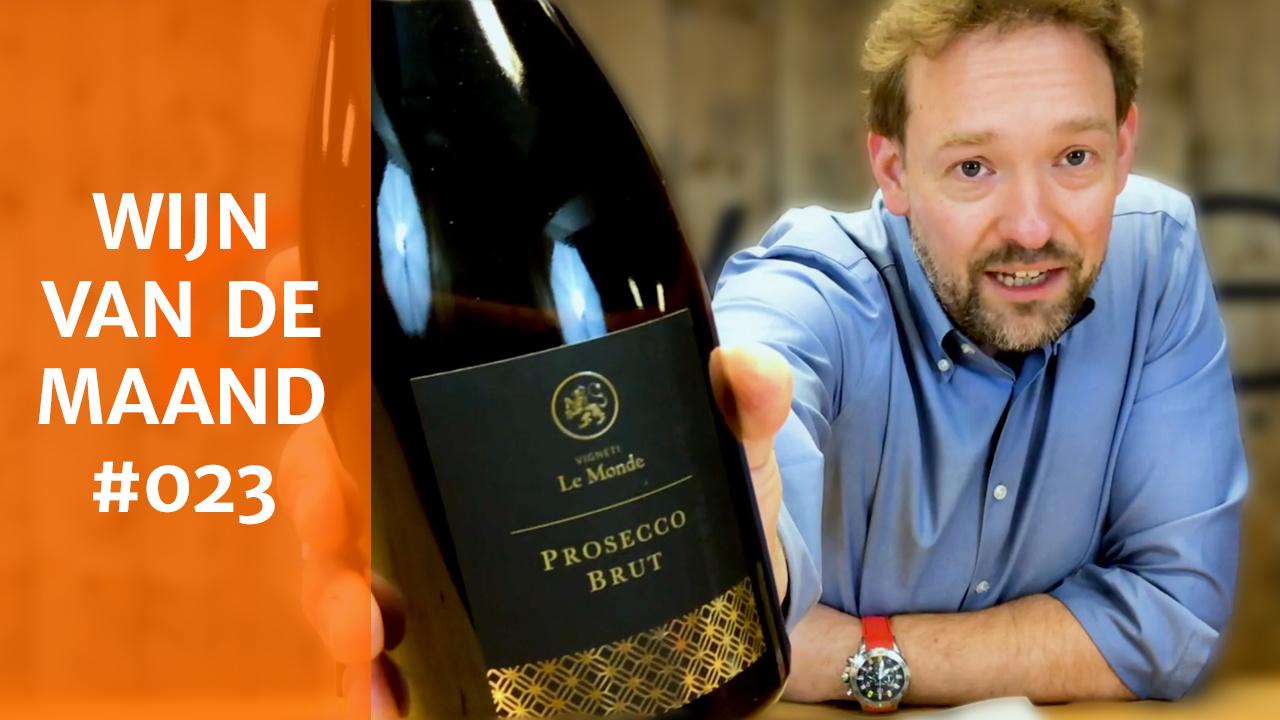 Wijn Van De Maand #023 (Mei) - Le Monde Prosecco Brut
