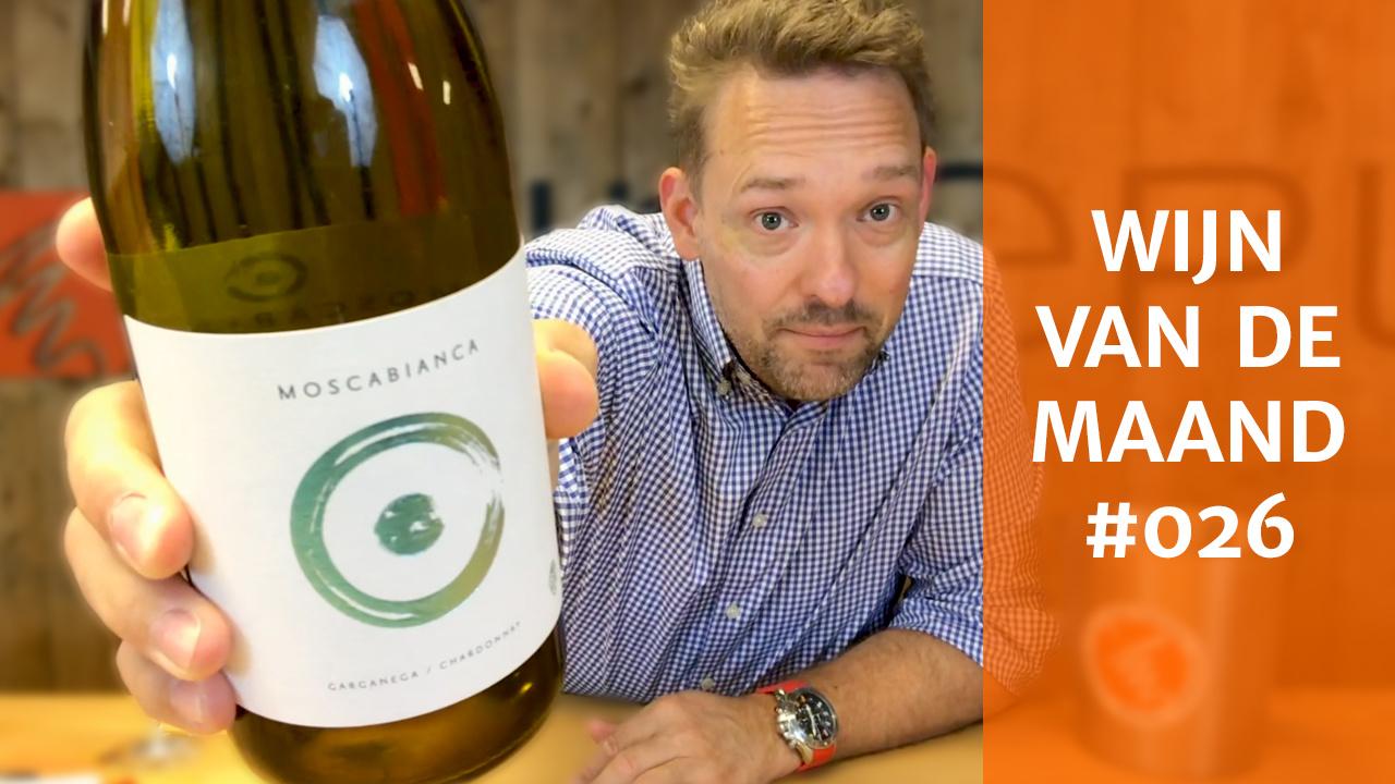 Wijn Van De Maand #026 (September) - Corte Moschina Moscabianca