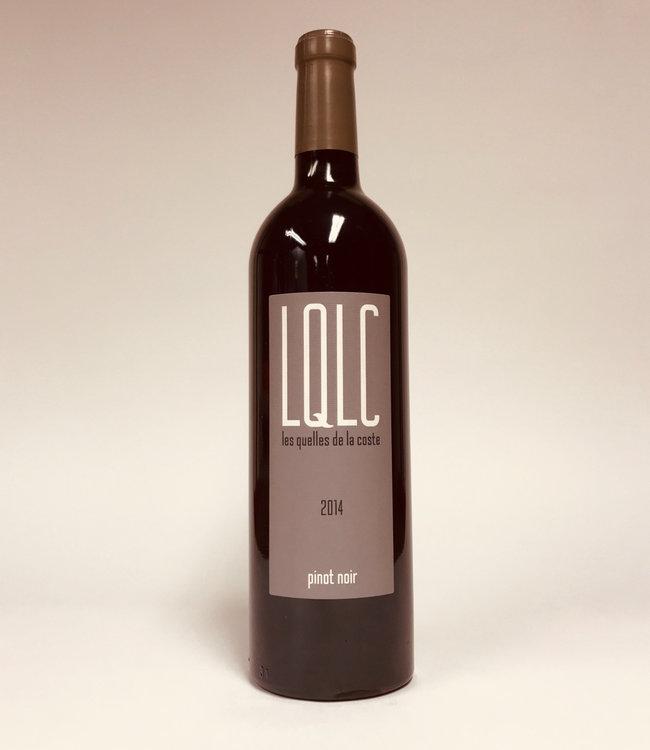 Les Quelles de la Coste Pinot Noir 0,750L Rood