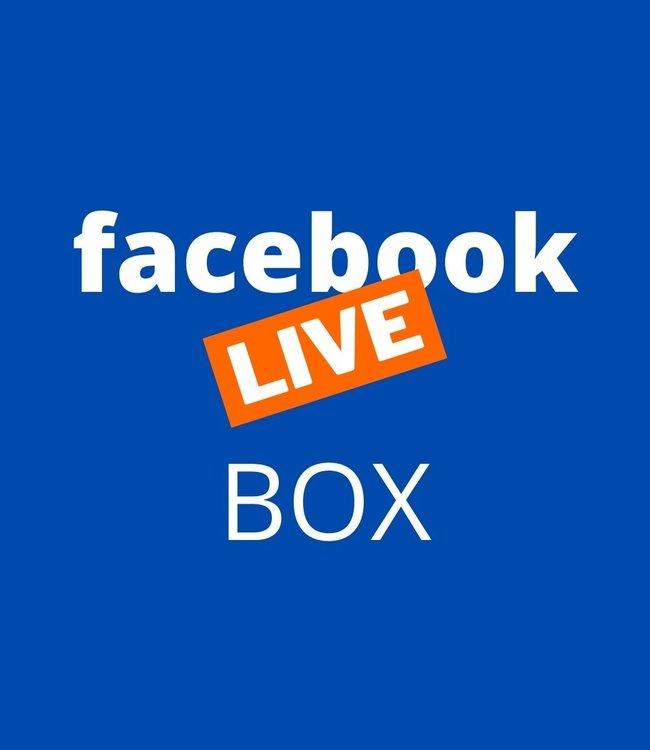 Facbook Live Box